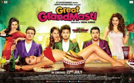 Индийский фильм: Полный отрыв / Great Grand Masti (2016)