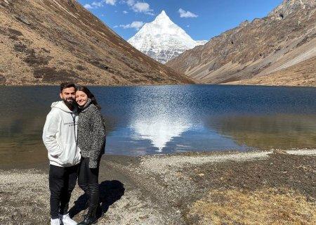 Анушка Шарма и Вират Кохли – очаровательная пара
