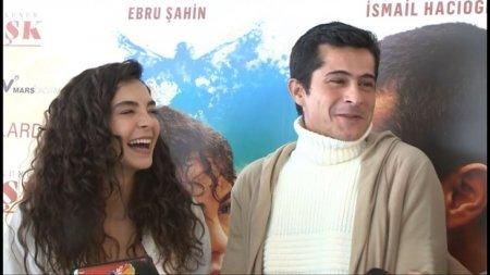 Эбру Шахин и Исмаиль Хаджиоглу представили свой фильм