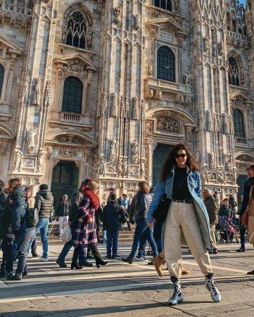 Эбру Шахин в Милане