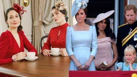 Гюпсе Озай сделала фильм из кризиса королевской семьи