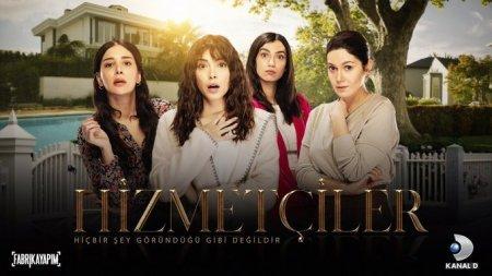 Турецкий сериал: Горничные / Hizmetciler (2020)