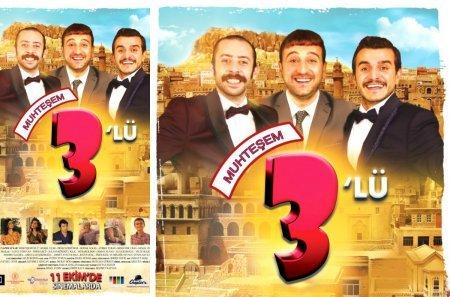 Турецкий фильм: Великолепная тройка / Muhtesem Uclu (2020)