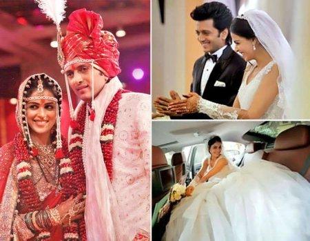 5 пар Болливуда, у которых были межнациональные свадьбы