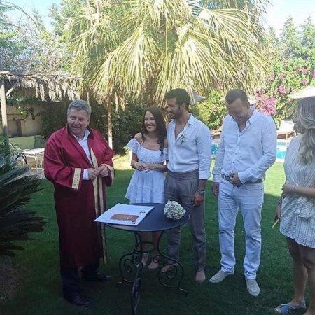 Свадьба Барыша Ардуча и Гюпсе Озай