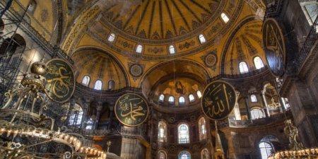 Достопримечательности Турции: «Защитник» в Айя-Софии