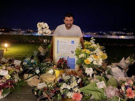 Сюрприз-поздравление Энгину Акюреку