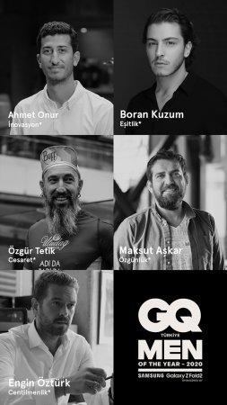 Энгин Озтюрк и Боран Кузум получили престижную премию от GQ