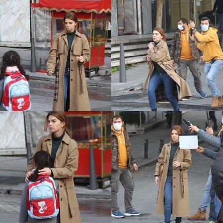 Пелин Карахан взволнована съемками нового фильма