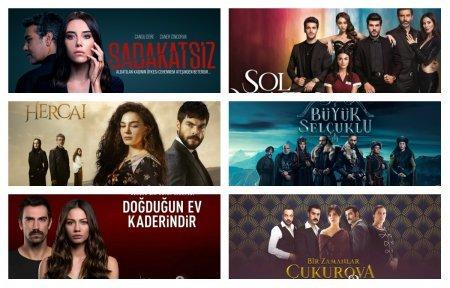 Рейтинги турецких сериалов с 07.12 - 13.12. 2020