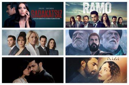 Рейтинги турецких сериалов с 14.12 - 20.12 2020