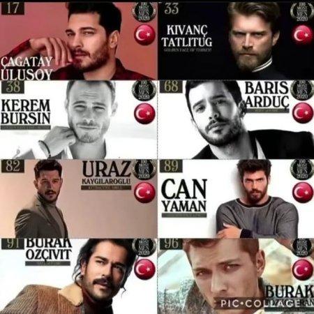 Самые красивые турецкие актеры 2020 года