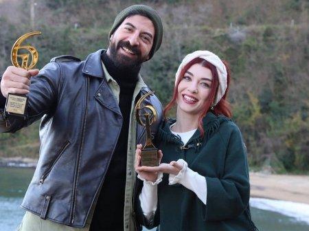 Исмаил Демирджи и Гюнер были признаны лучшей сериальной парой года