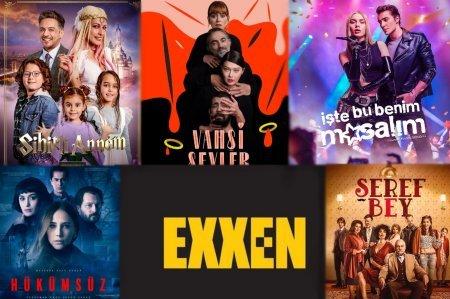 Турецкие сериалы, которые выйдут на Exxen
