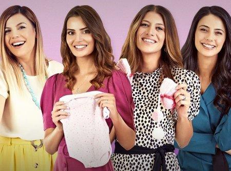 Турецкий сериал: Неопытные мамы / Acemi Anneler (2020)