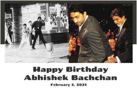 Абхишек Баччан отпраздновал свой 45-й день рождения