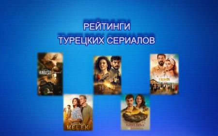 Рейтинги турецких сериалов с 01.03 - 07.03.2021