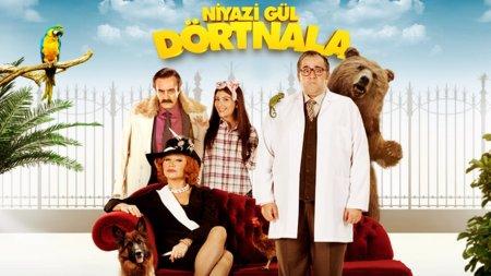 Турецкий фильм: Забег Ниязи Гюля / Niyazi Gul Dortnala (2015)