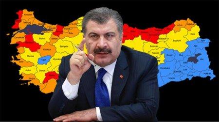 Министр здравоохранения Турции назвал провинции с самым высоким уровнем заболеваемости
