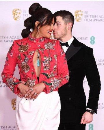 Приянка Чопра на BAFTA Awards 2021
