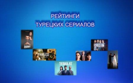 Рейтинги турецких сериалов с 12.04 - 18.04.2021