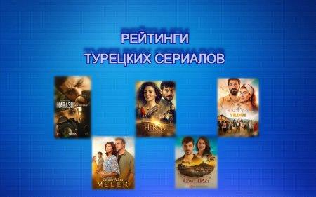 Рейтинги турецких сериалов с 19.04 - 25.04.2021