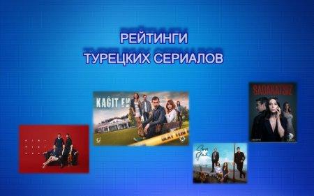 Рейтинги турецких сериалов с 26.04 - 02.05.2021