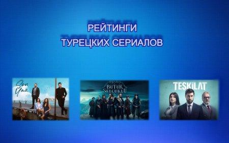 Рейтинги турецких сериалов с 31.05 - 06.06.2021