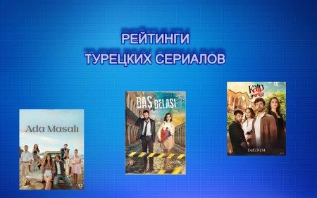 Рейтинги турецких сериалов с 28.06 - 04.07.2021