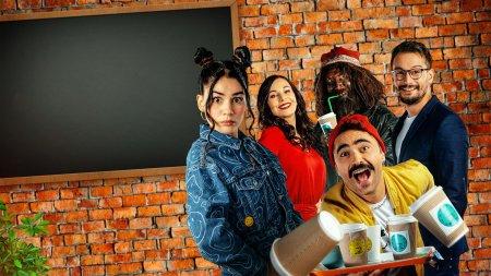 Турецкий сериал: Кафе поблизости / Adim Basi Kafe (2021)