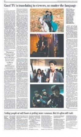Об успехе «Ветреного» написали в газете Washington Post