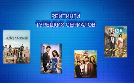 Рейтинги турецких сериалов с 16.08 - 22.08.2021