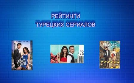 Рейтинги турецких сериалов с 23.08 - 29.08.2021